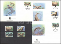 ** 1988 WWF: Dugong Sor Mi 782-785 + 4 FDC - Unclassified