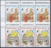 ** 51. Eucharisztikus Kongresszus Sor ívsarki Vízszintes 3-as Csíkban Mi 1865-1866 - Unclassified