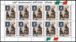 ** 2011 150 éves Az Olasz Egység Teljes Kisívsor Mi 1690-1695 - Unclassified