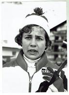 Schweizer Skilangläuferin Evi Kratzer From Arvigo Presse Foto 10x15 - Winter Sports
