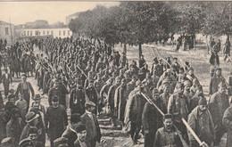 Guerre Balkanique - Les Longs Cortèges De Prisonniers Turcs Vaincus - Militaria - Bulgaria