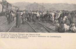 Guerre Balkanique - En Gare De Tcherkeskeui: L'assaut D'un Train à Destination De Constantinople - Militaria - Bulgaria