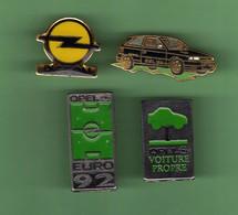 OPEL *** Lot De 4 Pin's Differents *** 5052 - Opel