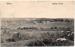 POLONIA Ca 1920. CIRCULATED POSTAL CARD Depicting General View Of Kielce - Poland