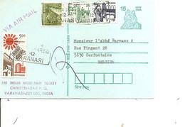 Inde ( EP De 1994 De Varanasi  Vers La Belgique à Voir) - Brieven En Documenten