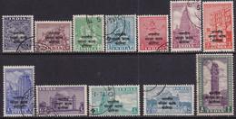INDIAN CUSTODIAN FORCES IN KOREA 1953 SG K1-K12 Compl.set Used CV £100 - Military Service Stamp