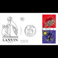 FDC - Coeur Lanvin - Oblit 8/1/2010 Paris - 2010-....