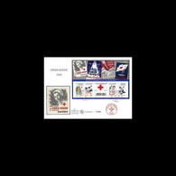 FDC GF Soie - Croix Rouge 2010 - Oblit 5/11/2010 Paris - 2010-....