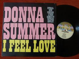 MAXI 45T DONNA SUMMER - I FEEL LOVE - REMIX PATRICK COWLEY - MADE UK 1982 - 45 Rpm - Maxi-Single