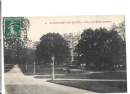 58 -   ST HONORE LES BAINS  - Parc De L Etablissement   82 - Saint-Honoré-les-Bains