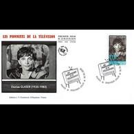 FDC - Les Pionniers De La Télévision D. Glaser - Oblit Paris 18/10/2013 - 2010-....