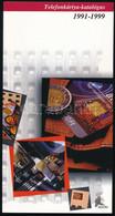 1992 MALÉV 20 000 Példányos Bontatlan Telfonkártya + 1991-1999 Telefonkártya-katalógus - Unclassified