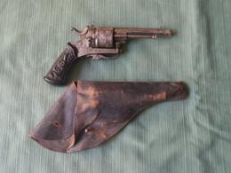 Revolver A Broche XIXe - Armi Da Collezione