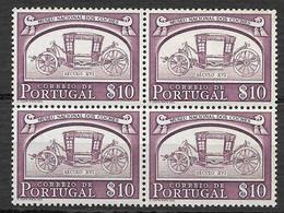 Portugal 1952 - Museu Nacional Dos Coches - Afinsa 741 QUADRA - Unused Stamps