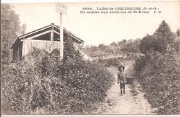 CPA - Saint-Rémy-les-Chevreuse  - Un Sentier Aux Environs De St-Rèmy - St.-Rémy-lès-Chevreuse