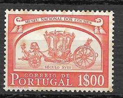 Portugal 1952 - Museu Nacional Dos Coches - Afinsa 745 - Unused Stamps