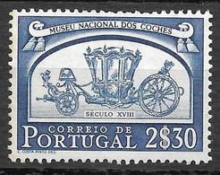 Portugal 1952 - Museu Nacional Dos Coches - Afinsa 748 - Unused Stamps