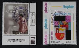 France 2021 Dora Maar Et Sophie Taeuber-Arp -Oblitérés - Used Stamps
