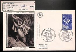 D - [405765]B/TB//-France  - (67) Strasbourg, Europa, Charles Perrault, Gravure De Gustave Doré, Le Chat Botté, Europa-C - 1997