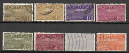 Portugal 1936 - Encomendas Postais - Afinsa 18/25 - Used Stamps