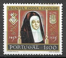 Portugal 1958 - 5º Centenário Do Nascimento Da Rainha Dª Leonor - Afinsa 843 - Unused Stamps