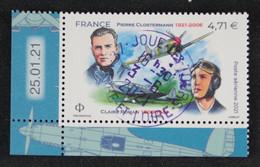 France 2021 - Claire Roman Et Pierre Clostermann - Oblitéré - Oblitérés