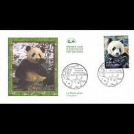 CEF - Animaux Disparus Ou Menacés - Panda Géant - Oblit Paris 20/6/09 - 2000-2009