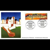 FDC LNF - La Cité Fortifiée - 3/3/2000 Carcassonne - 2000-2009