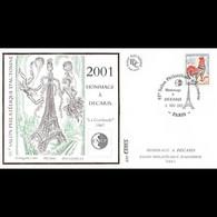 FDC Cérès CNEP N° 34 - Decaris - Paris 2001 - 2000-2009