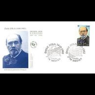 FDC JF - Emile Zola, écrivain - 5/10/2002 Médan - 2000-2009