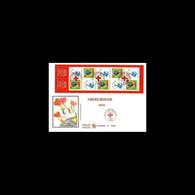 FDC GF Soie - Carnet Croix Rouge 2006 - Oblit Paris 25/11/2006 - 2000-2009