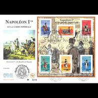 FDC GF JF - Bloc Napoléon 1er Et La Garde Impériale, 26/6/2004 Paris - 2000-2009