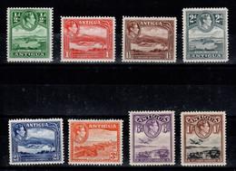 Antigua - YV 81 à 88 N** / N* , MNH / MH : 81 à 86 N** MNH , 87 & 88 N* MH - 1858-1960 Kolonie Van De Kroon