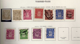 Norvege (1889-1914)-    Timbres Taxe Obliteres - Used Stamps