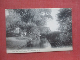 View On Trout Brook     Hackettstown  New Jersey   Ref  4974 - Ohne Zuordnung