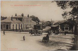 111  GRANVILLE. - La Gare ( Côté De L'Arrivée ) - Granville