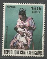Centrafrique - Zentralafrikanische 1972 Y&T N°186 - Michel N°302 (o) - 180f Allaiter - Central African Republic