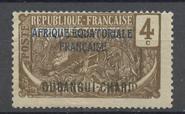 Oubangui Chari - Ubangi Schari - Ubangi Shari 1924-25 Y&T N°45b - Michel N°45 Nsg - 4c Panthère - Unused Stamps