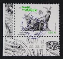 France 2021 - Europa:Faune En Danger - Oblitéré - Used Stamps