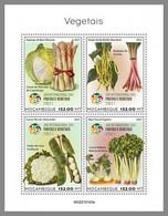 MOZAMBIQUE 2021 MNH Vegetables Gemüse Legumes M/S - OFFICIAL ISSUE - DHQ2124 - Gemüse