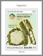 MOZAMBIQUE 2021 MNH Vegetables Gemüse Legumes S/S III - OFFICIAL ISSUE - DHQ2124 - Gemüse