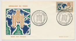 TCHAD => FDC - Campagne Mondiale Contre La Faim - 21 Mars 1963 - Fort Lamy - Tchad (1960-...)