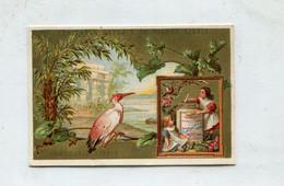 Chromo LIEBIG : S 101 / F - Oiseaux / Ucelli - N° 5 - 1878/1883 - Liebig