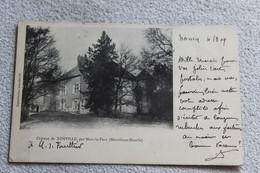 Cpa 1909, Château De Xonville, Par Mars La Tour, Meurthe Et Moselle 54 - Other Municipalities