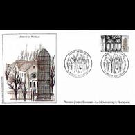FDC LNF - L'Abbaye De Noirlac - 2/7/1983 Bruère-Allichamps - 1980-1989