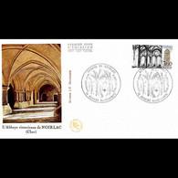 FDC JF - L'Abbaye De Noirlac - 2/7/1983 Bruère-Allichamps - 1980-1989
