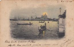 VENEZIA-EDIZIONI ZANETTI-CARTOLINA VIAGGIATA IL 1-1-1901 - Venezia