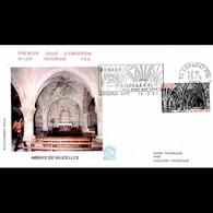 FDC N° 1229 - L'Abbaye De Vaucelles - 19/9/1981 Les Rues Des Vignes + Flamme - 1980-1989