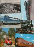 Lot 73 Ansichtskarten Motiv Eisenbahn, überwiegend Deutschland - 5 - 99 Postcards