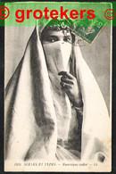 ALGER Scènes Et Types: Mauresque Voilee 1920 - Women